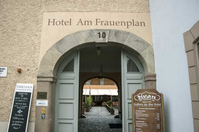 Hotel Am Frauenplan in Weimar