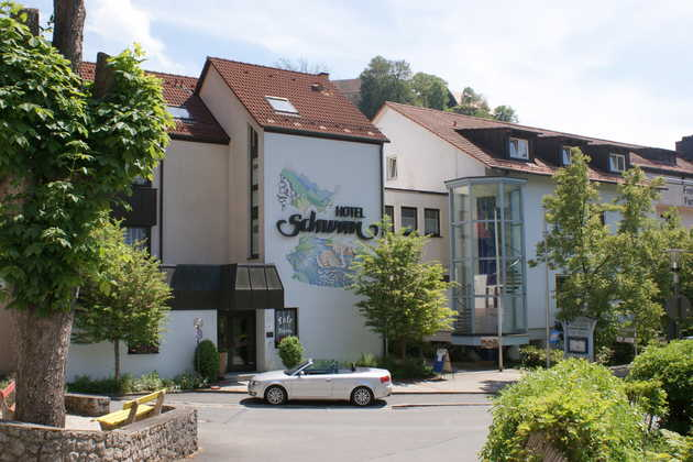 Hotel Schwan in Pottenstein