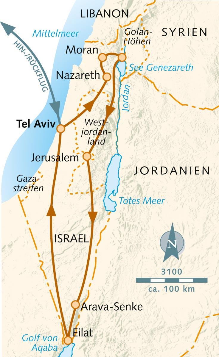 Foto Israel National Trail, Beitrag Israel-Wandern als Pauschalreise? Möglich!