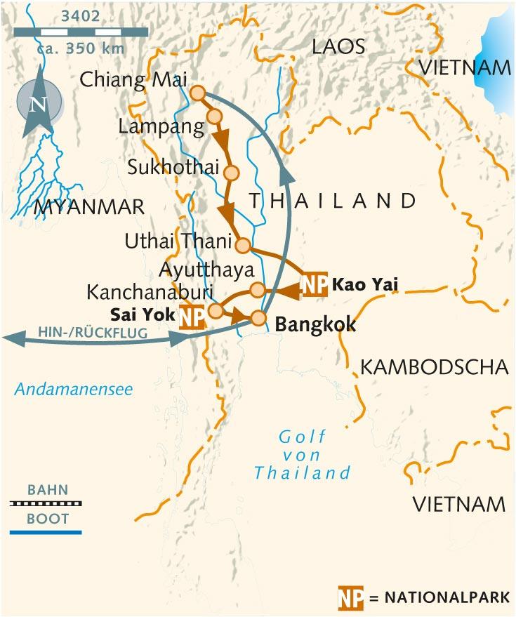 Wanderreise: Höhepunkte Nordthailands - Thailand - Wikinger Reisen