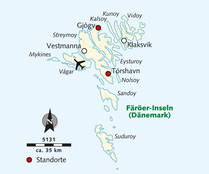 Wanderreise Naturidyll Wanderparadies Die Faroer Inseln