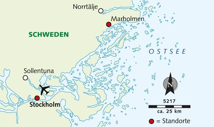 Schweden Karte Pdf.Wanderreise Aktiv Entspannt Im Stockholmer Scharengarten
