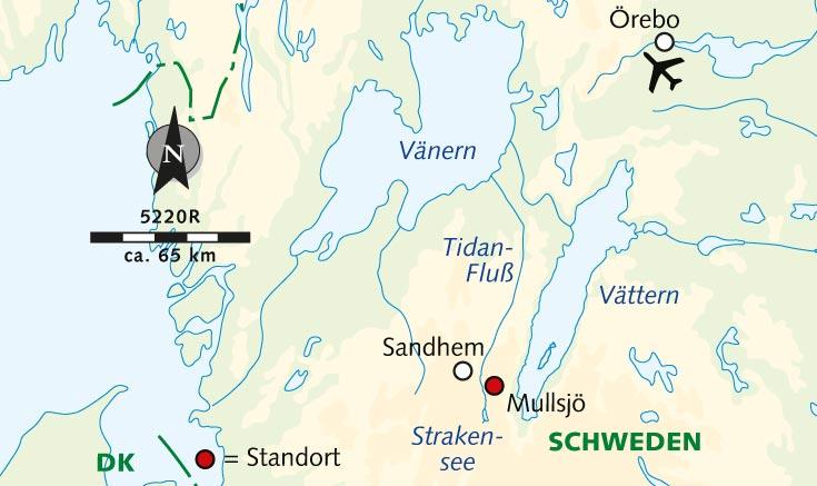Schweden Karte Pdf.Radreise Radeln Im Naturparadies Sudschweden Smaland