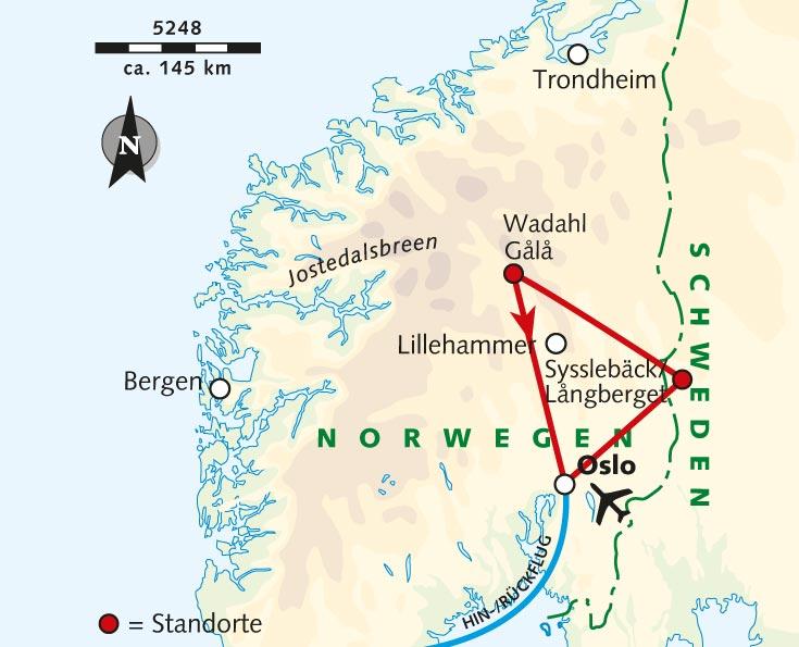 Wanderreise Norwegen Schweden Aktiv Im Fjell Schweden