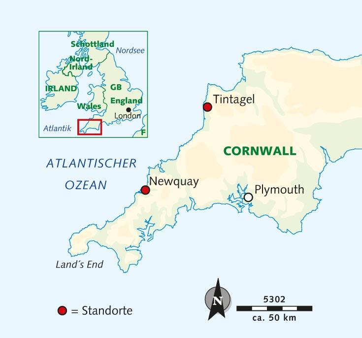 Wanderreise Cornwall Zwischen Moor Und Steilkuste