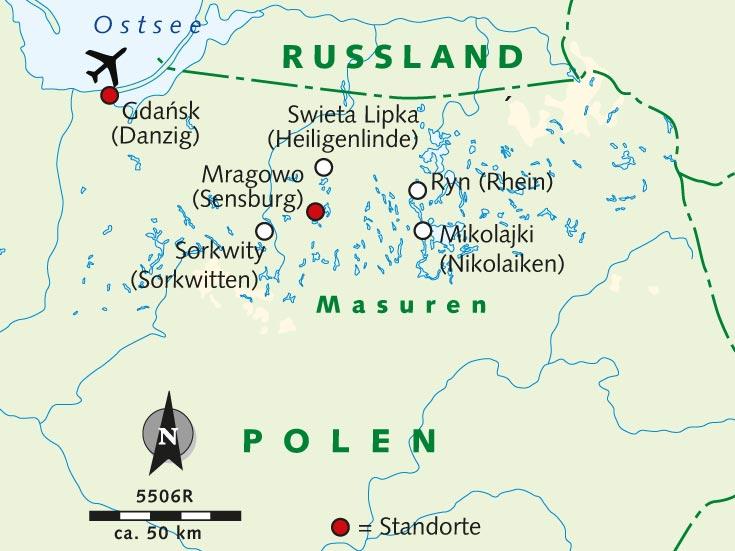 Radreise Masuren Radelnd Durch Das Land Der 1 000 Seen Polen