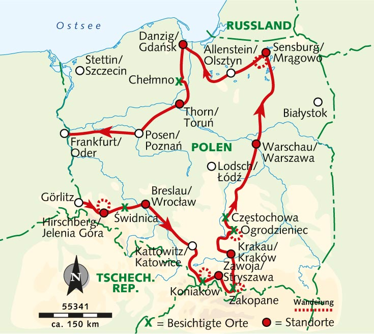 Wanderreise Vom Karpatenland Zum Ostseestrand Polens Hohepunkte