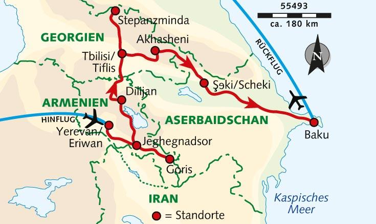 Side T303274rkei Karte.Aserbaidschan Karte Welt