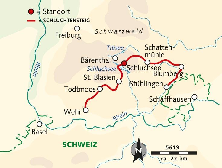 Wanderreise Abenteuer Natur Der Schluchtensteig Deutschland