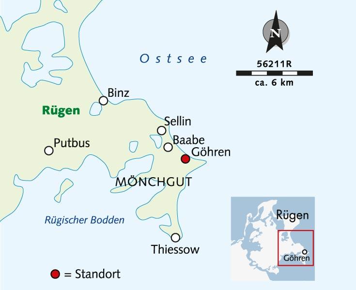 Ostsee Karte Rügen.Radreise Rügen Blaues Meer Und Weiße Felsen Deutschland Rügen