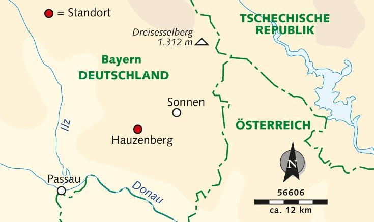 Dreiländereck Bayerischer Wald Karte.Wanderreise Bayerischer Wald Wandern Auf Dem Goldsteig