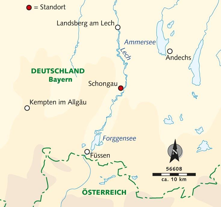 Wanderreise Der Lecherlebnisweg Schmale Pfade Bayerische