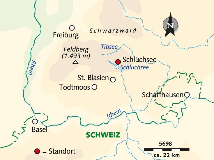 Wanderreise Schwarzer Wald In Weiss Deutschland Schwarzwald