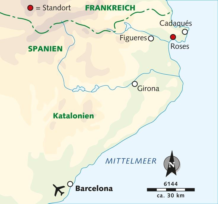 Spanien Katalonien Karte.Wanderreise Malerisches Katalonien Auf Den Spuren