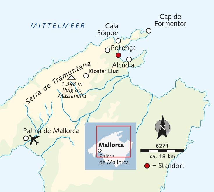 Mallorca Karte Alcudia.Wanderreise Tapas Wanderwoche Auf Mallorca Spanien Mallorca