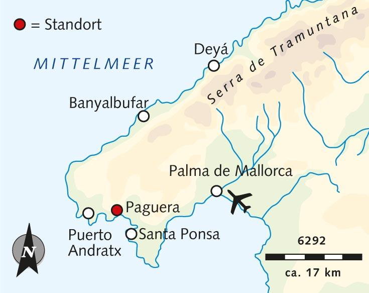 Mallorca Karte Paguera.Wanderreise Mallorcas Traumküsten In Der Stillen Jahreszeit