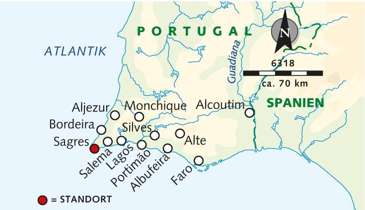 Flughafen Algarve Karte.Wanderreise Westalgarve Monumente Aus Stein Und Sand Portugal