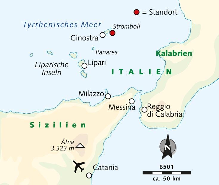 Sizilien Karte ätna.Wanderreise Stromboli Insel Des Natürlichen Leuchtfeuers