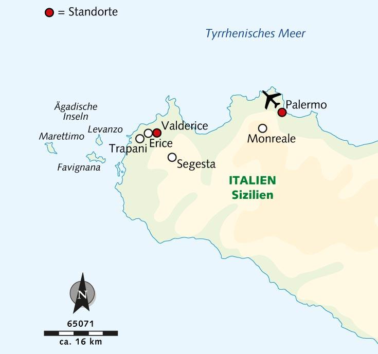 Wanderreise: Sizilien – der weite Westen - Sizilien - Wikinger Reisen