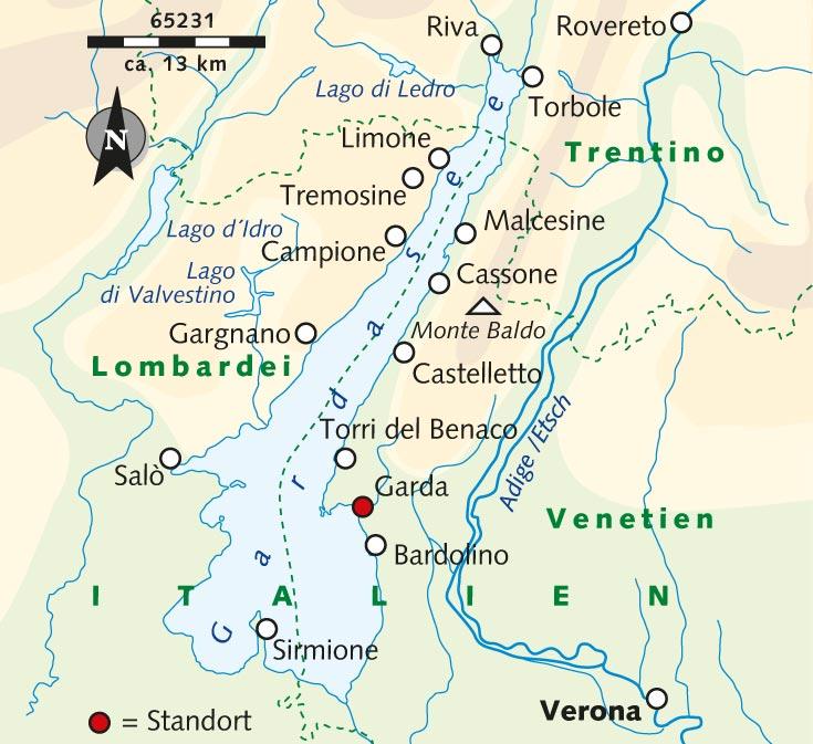 Wanderreise Primavera Fruhling Am Gardasee Italien Gardasee