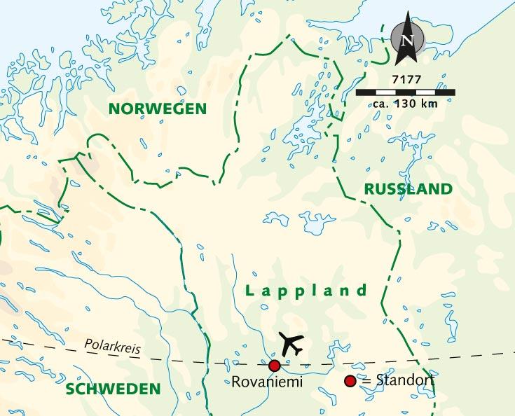 Polarkreis Alaska Karte.Individuelle Wanderreise Aktive Auszeit Am Polarkreis Finnland