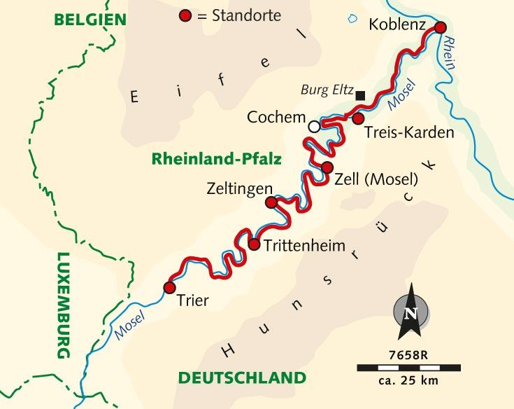 Mosel Radweg Karte Pdf.Individuelle Radreise Der Mosel Radweg Deutschland Mosel