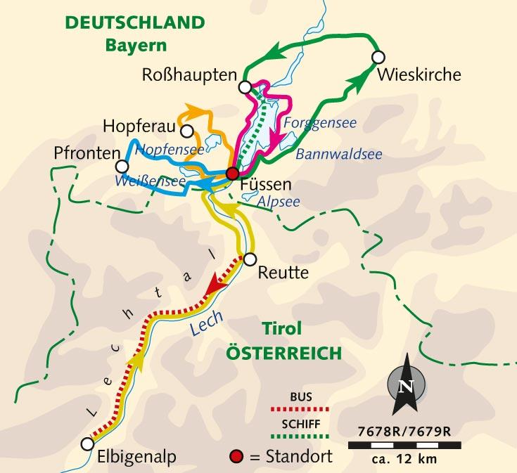 Individuelle Radreise Allgauer Alpenluft Im Konigswinkel