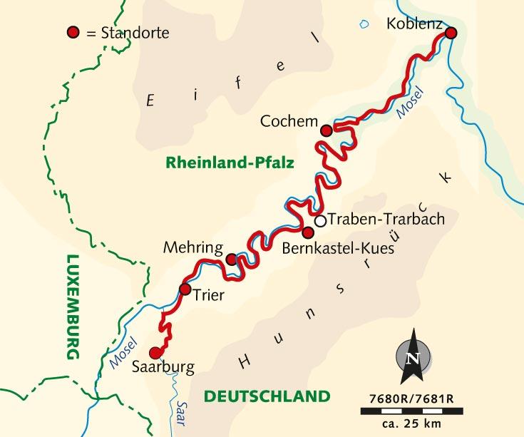 Mosel Radweg Karte Pdf.Individuelle Radreise Entlang Der Mosel Saar Mit Rad Und Schiff