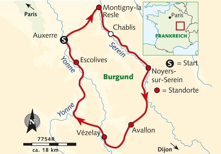 Side T303274rkei Karte.Burgund Karte Frankreich