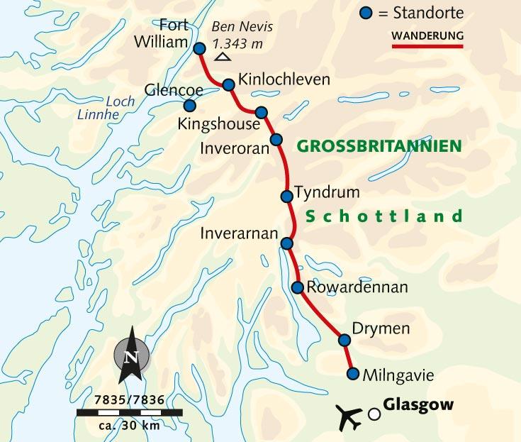 Individuelle Wanderreise Schottland West Highland Way