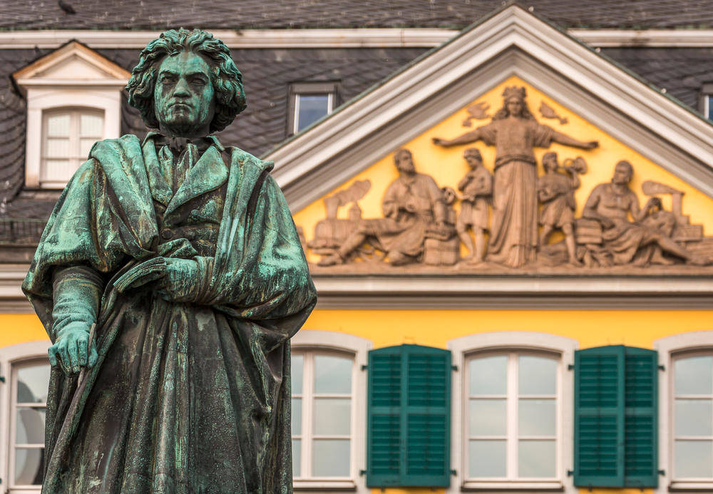 Beethoven-Statue in Bonn