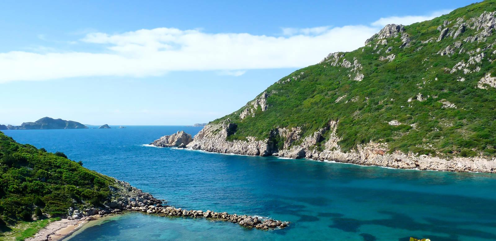 Wanderreise Griechenland: Wandern und Baden auf Korfu