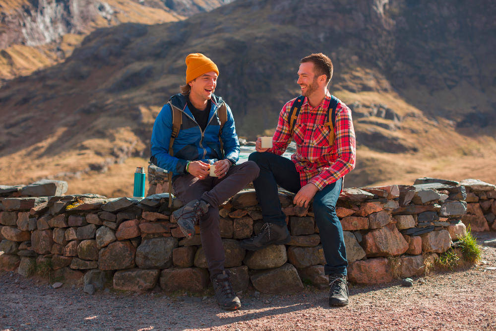 Pause am West Highland Way - © VisitBritain / Rod Edwards