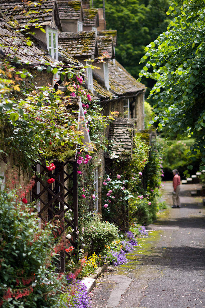 Vinyard Street Cottages in Winchcombe, Cotswolds