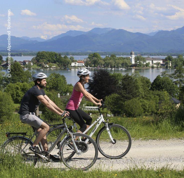 Ebike Radfahren Im Bayerischen Wald