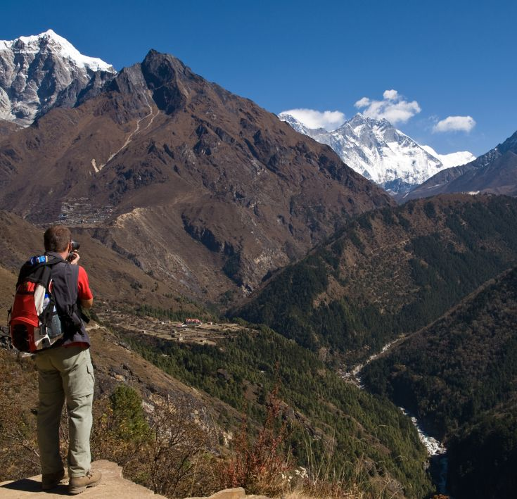 Panorama-Treks am Annapurna & Everest
