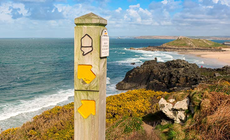 Wandern in Cornwall - individuell