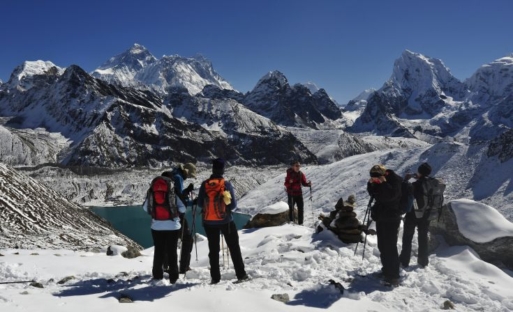 Zum Mount-Everest-Basecamp