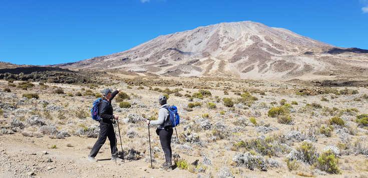 Rongai-Route individuell: mit Zeltübernachtungen