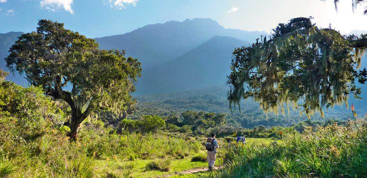 Mount Meru individuell: mit Hüttenübernachtungen