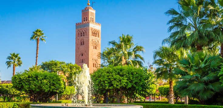 ... aus 1001 Nacht - Jahreswechsel in Marrakesch