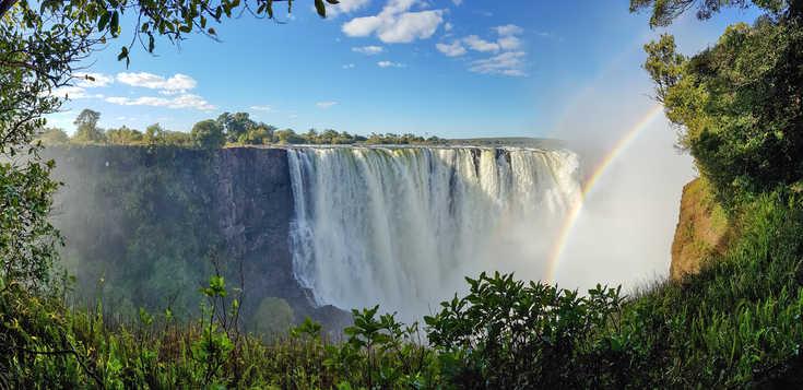 Südliches Afrika: Naturschauspiel Viktoria-Fälle
