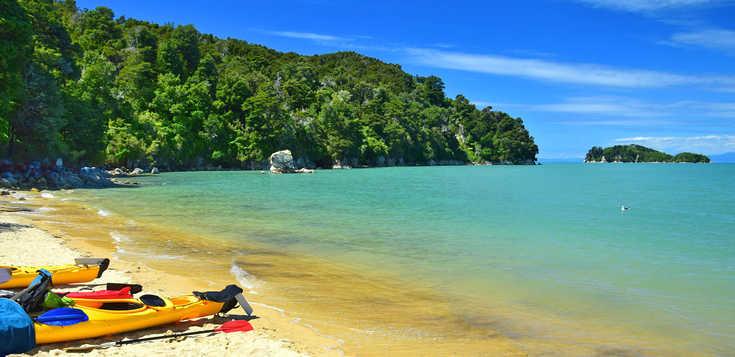 Neuseeland for fun: Per Pedes, Paddel und Pedale