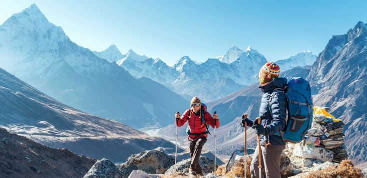 Zum Mount Everest Base Camp und Kala Patthar