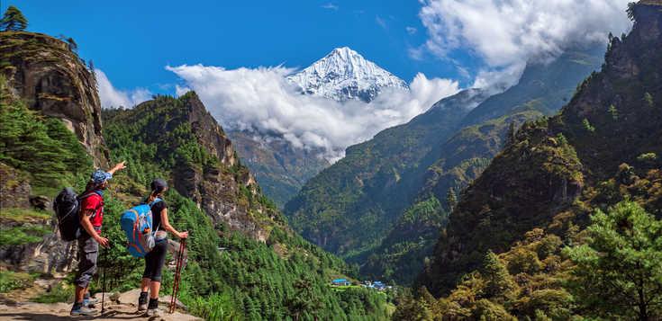 Panoramablicke am Annapurna & Everest