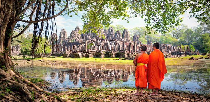 Mönche, Mekong & Meer