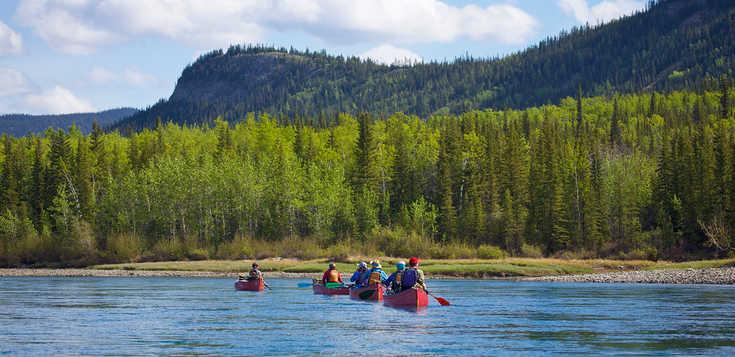 Auf den Spuren Jack Londons - Yukon zu Fuß & per Kanu