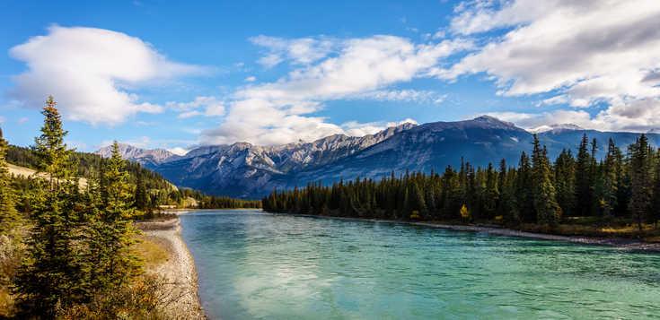 Rocky Mountains zu Fuß und per Kanu