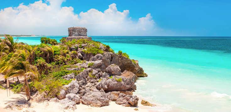 Von Karibik-Stränden ins Maya-Land