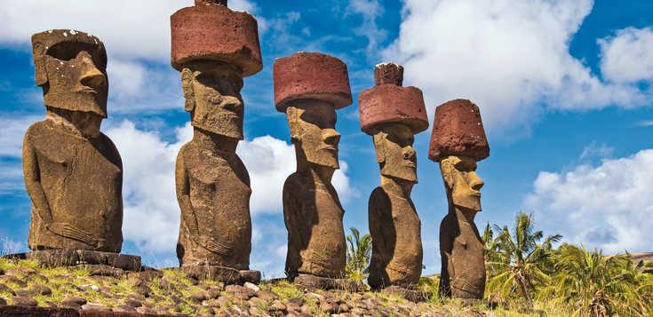 Patagonien, Osterinsel, Tahiti ... warum nur träumen?